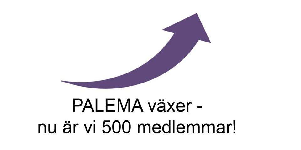 PALEMA 500 medlemmar