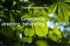 Öppet möte/Föreläsning – Levercancer (Utredning, behandling och omvårdnad)