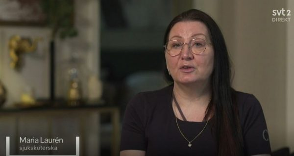 Maria Lauren i SVT Agenda