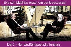 Eva och Matthias pratar om pankreascancer – del 2: Hur vårdförloppet ska fungera