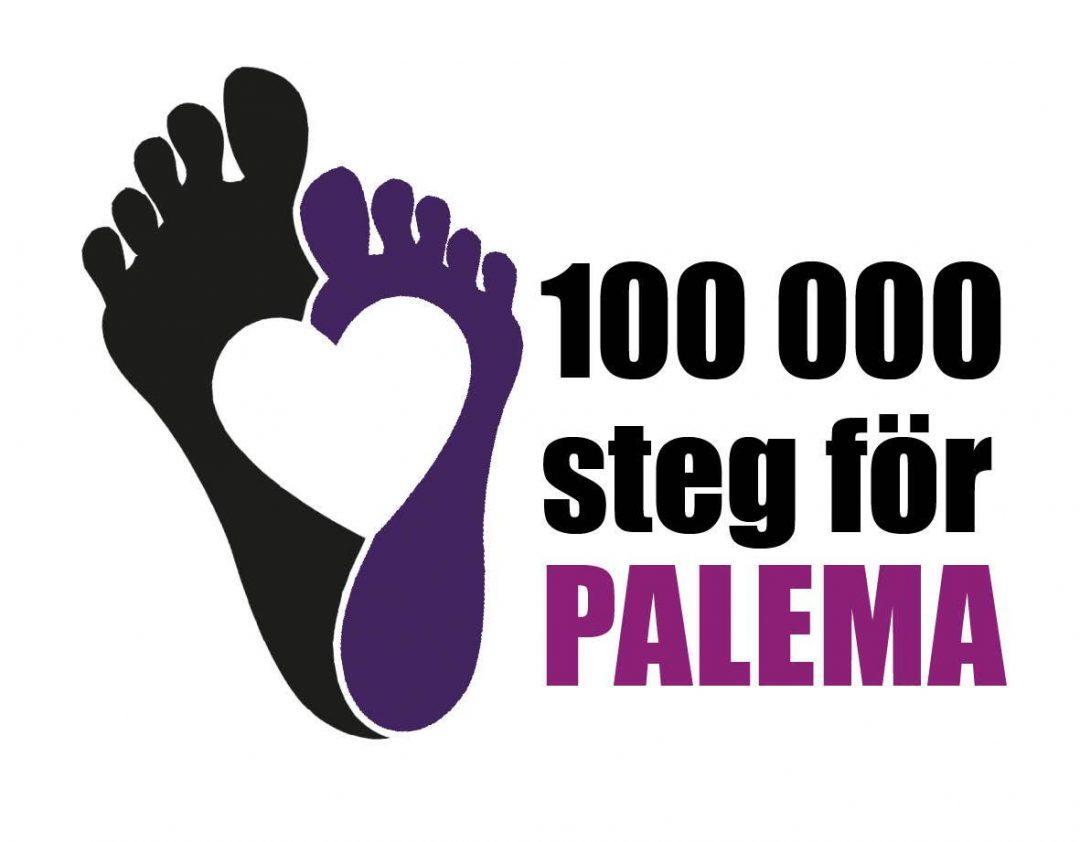 100 000 steg för PALEMA