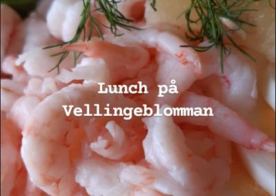 Lunch på Vellingeblomman