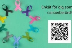 Enkät för dig som är cancerberörd!