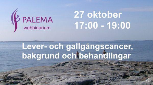 Lever- och gallvägscancer - Webbinarium @ Online webbinarium